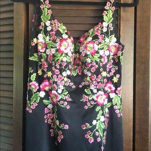 Dresses & Skirts - Formal Floral Embroidered Dress